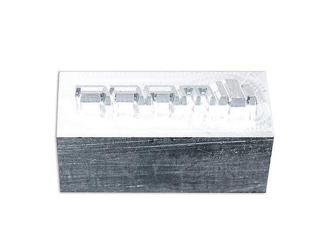 Matrita din aluminiu pentru embosare piele