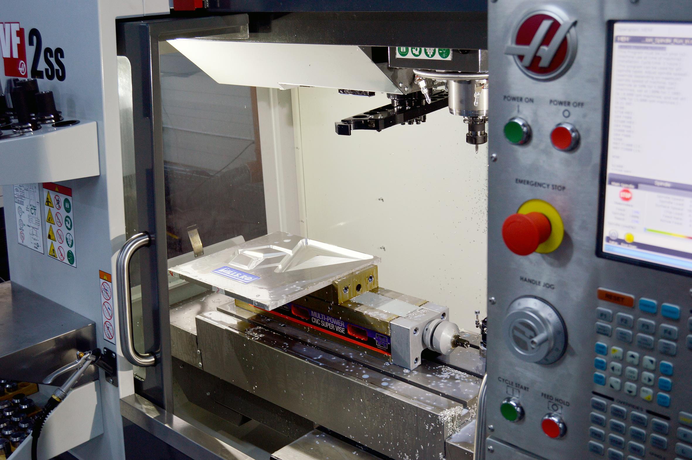 Matrita din aluminiu pentru turnare silicon